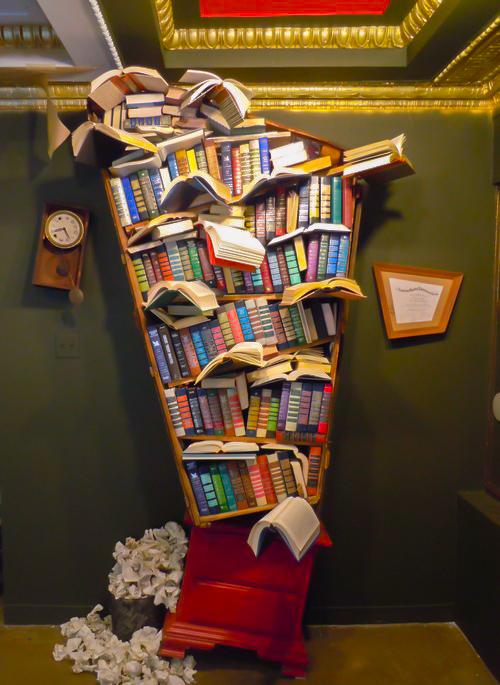 Labyrinth BookcaseLR-2