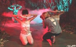MELANIE PULLEN | VIOLENT TIMES | L.A. ART SHOW  2017